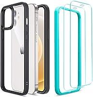 ESR Coque Compatible avec iPhone 6.1 Pouces 12 et 12 Pro avec 2 Verres Trempés Protection écran, Angles Choc Amortissant,...