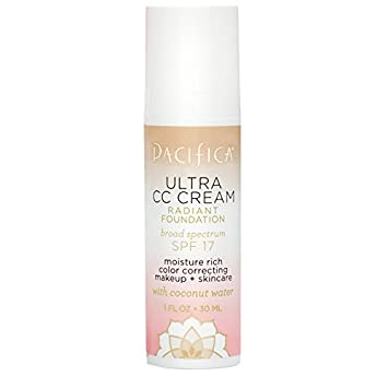 Pacifica Beauty Ultra CC Cream Radiant Foundation Natural Medium