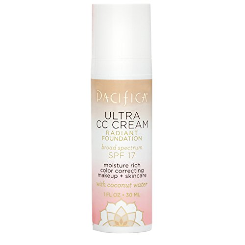 Pacifica Beauty Ultra CC Cream Radiant Foundation Warm/Light