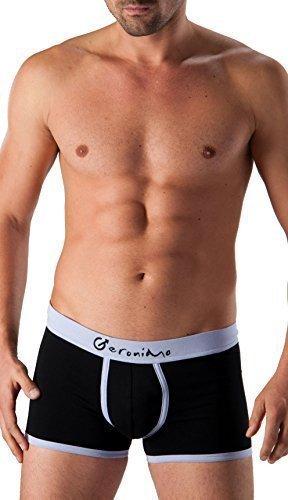 GERONIMO Ropa Interior Hombre Modernos Negros Boxer Lila cintura ,Hipster, Algodón 1262b1 - algodón