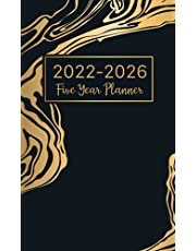 2022-2026 Monthly Pocket Planner: 2022-2026 Five Year Monthly Planner | 60 Month Calendar | Small Pocket Size 4 x 6.5