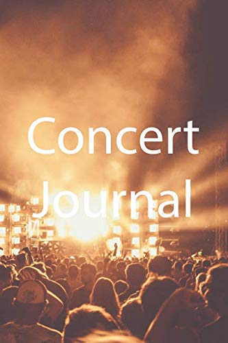 - Concert Journal: A journal to save your ticket stub and memories, 6