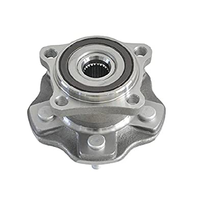 DRIVESTAR 512365 AWD Rear Wheel Hub & Bearing Assembly fits for Lexus RX350 2010 11 12 13 2014 Lexus RX350 Lexus RX450h(AWD 4X4 4WD ONLY 5 Lugs w/ABS)(Pair): Automotive