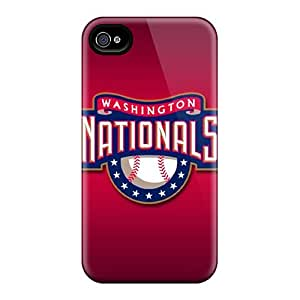 Tough Iphone BVS7422Huil Case Cover/ Case For Iphone 4/4s(washington Nationals)