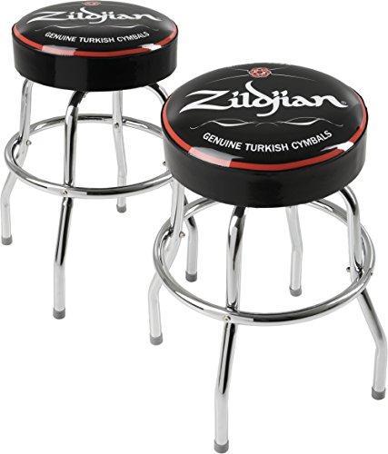 Zildjian 24 in. Barstool 2-Pack (Logo Steel Bar Stool)