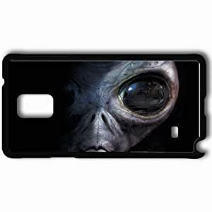 Personalized Samsung Note 4 Cell phone Case/Cover Skin Area 51 Black