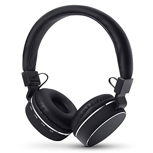HyperGear V60 Wireless Headphone with Bluetooth 4.1 Technology. On-Ear Noise Isolating Microphone & Collapsible EZ-Fold Design for iPhone X / 8 / 8Plus, Samsung S9 / S9+, Note8 & More.