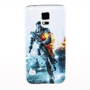 YULIN Teléfono Móvil Samsung - Cobertor Posterior - Gráfico/Diseño Especial - para Samsung S5 i9600 ( Multi-color , Plástico )