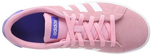 adidas Daily 2.0, Zapatillas Para Niñas Rosa (Rossua / Ftwbla / Azalre 000)