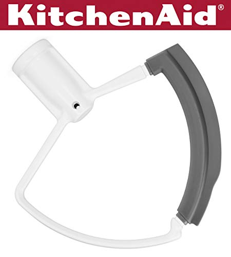 KitchenAid KFEW6L Flex Edge Beater for 6-Quart Bowl-Lift Stand Mixers - White