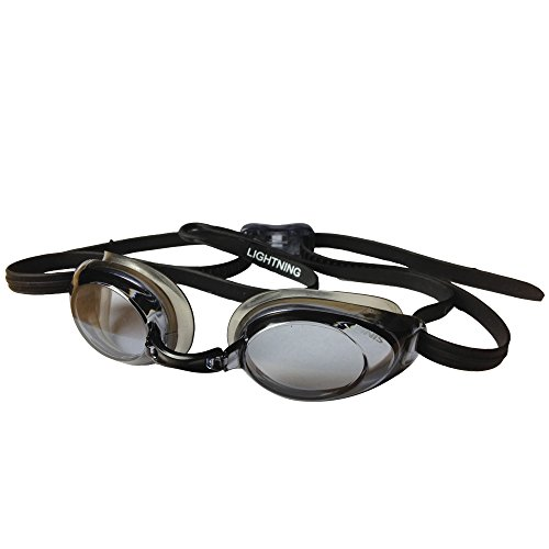 - FINIS Lightning Goggles (Black/Smoke)