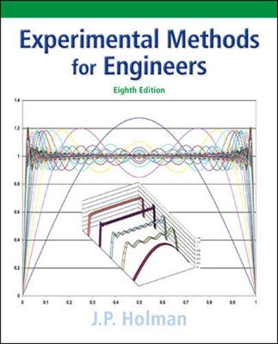 Experimental Methods for Engineers (Mcgraw-hill Series in...
