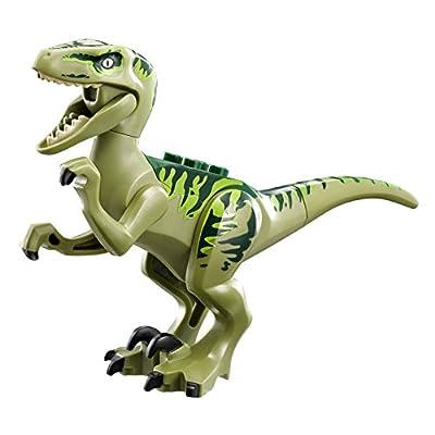 LEGO Jurassic Park Jurassic World Raptor Escape Set #75920: Toys & Games