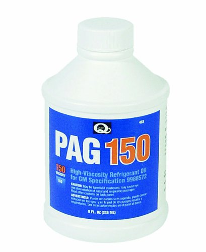 150 Viscosity Pag Oil - Interdynamics 483 PAG 150 High Viscosity Oil for A/C Systems - 8 oz.
