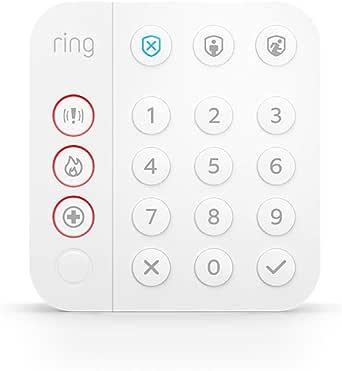 Het nieuwe bedieningspaneel van Ring Alarm (2de generatie)