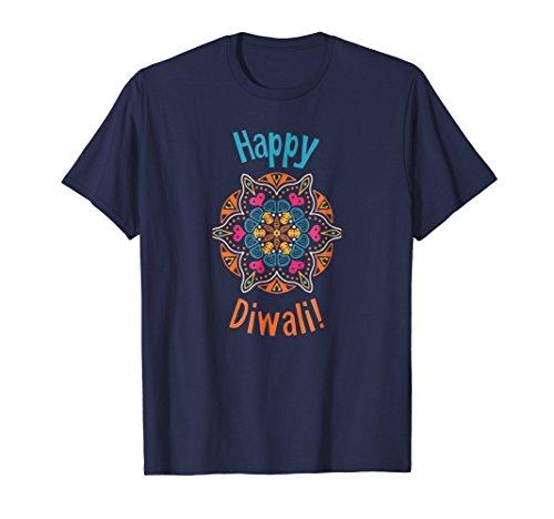 Mens Happy Diwali T-Shirt 2XL Navy by Diwali Tshirts by Struggle Industries