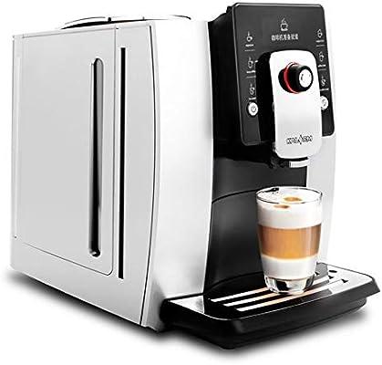 KOUDAG Cafetera cafetera Totalmente automática máquina de café Espresso Capuchino café con Leche máquina de café cafetera de Oficina: Amazon.es: Hogar