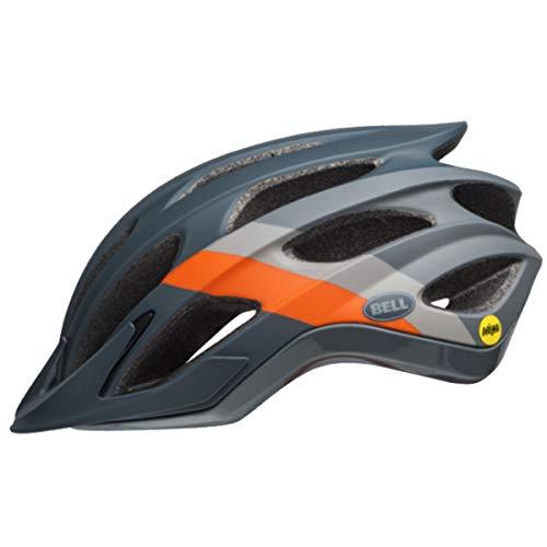 Bell Sports 2019 Drifter MIPS-Equipped Bicycle Helmet - Logic Matte/Gloss Slate/Gray/Orange (Logic Matte/Gloss Slate/Gray/Orange - Large) -