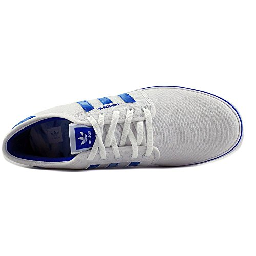 Adidas Mens Seeley Skate Schoen Wit / Blauw Vogel / Wit