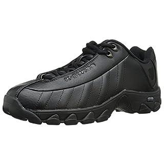 K-Swiss Men's st329 CMF Sneaker, Black, 8.5 X-Wide