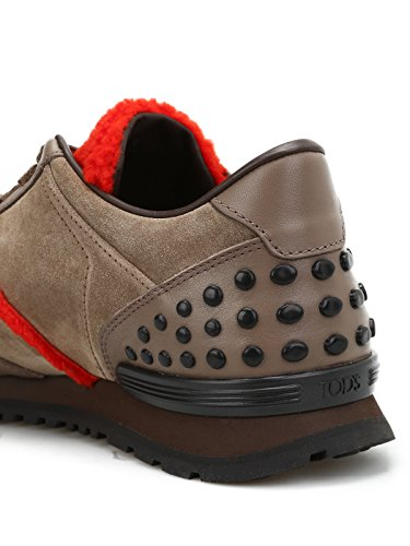 Tods Sneaker in Pelle Suede e Montone XXM0XH0R012I13