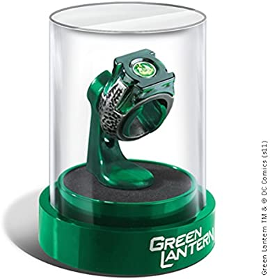 1eaa1856b8f Noble Collection Green Lantern Prop Ring   Display  Amazon.co.uk  Toys    Games