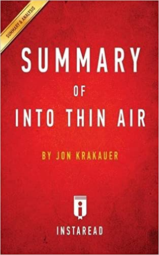 Into Thin Air Jon Krakauer Ebook