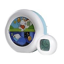 CLAESSENS' KID Kid'Sleep Moon Sleep Trainer, White, Blue