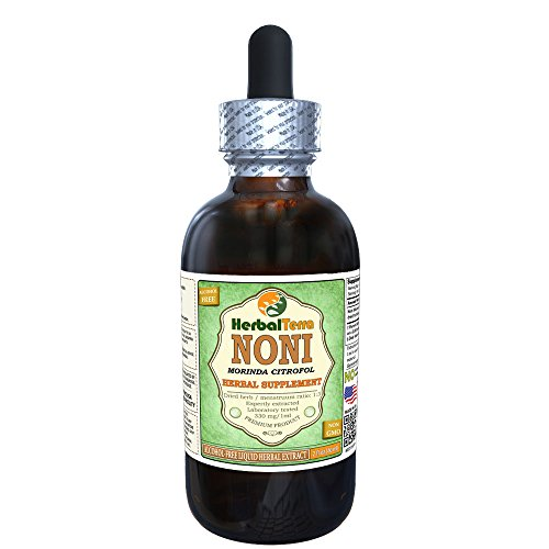 Noni (Morinda Citrofol) Glycerite, Organic Dried Fruits Alcohol-Free Liquid Extract 2 oz