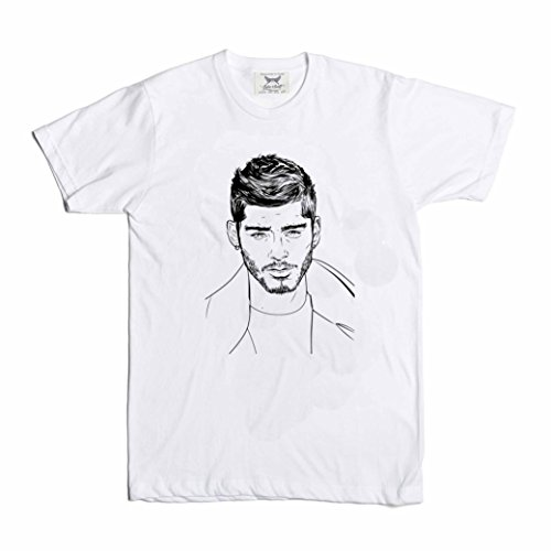Zayn Malik White Tee (Unisex) (L) for sale  Delivered anywhere in USA