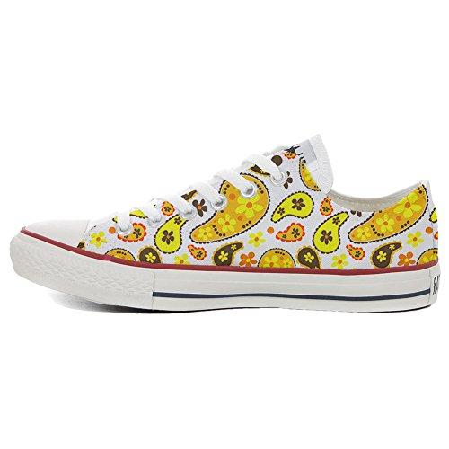 9949f873 Converse All Star Customized - zapatos personalizados (Producto Artesano) Hippie  Paisley delicado