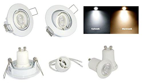 1 x pequeña lámpara LED de techo de montaje de foco de luz ...