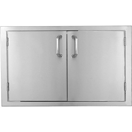 Bbqguys.com Kingston Series 36-inch Stainless Steel Double Access Door