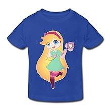 Kids Toddler Star Vs Forces Of Evil Little Boys Girls T-Shirt RoyalBlue Size 4 Toddler