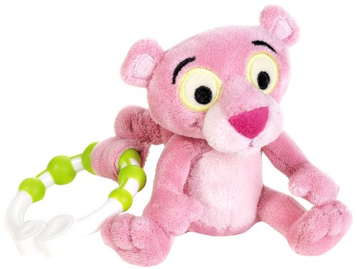 (Lelly 17 cm Panther Trembling Plush Toy in Single Box (Baby Pink/Brown))