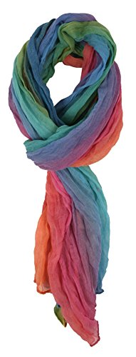 Love-Lakeside-Womens-Washes-of-Color-Summer-Lightweight-Scarf