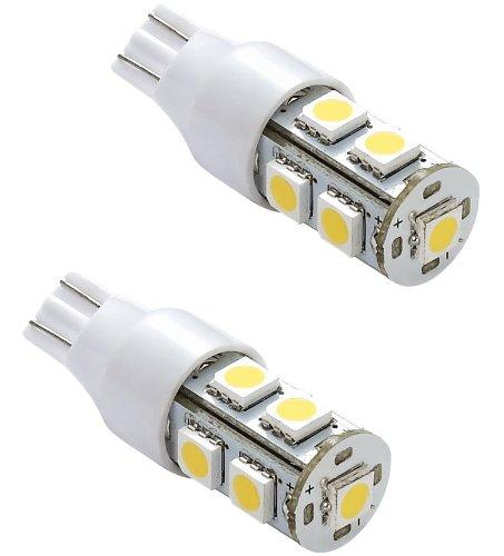 Gold Stars 92100024 LED Replacement Light Bulb 921/T15 Wedge base 80 Lumens 12v or 24v Natural White
