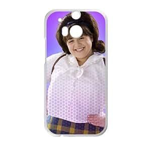 Hai7M funda HTC One M8 caja funda del teléfono celular del teléfono celular blanco cubierta de la caja funda EVAXLKNBC23230