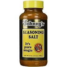 Johnny's Seasoning Salt , NO MSG 42-Ounce Bottle(Pack of 2)