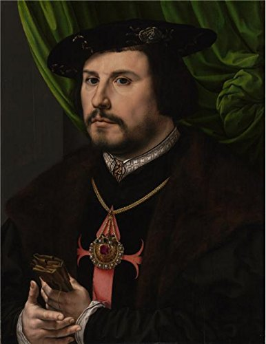 Perfect Effect Canvas ,the Reproductions Art Decorative Canvas Prints Of Oil Painting 'Jan Gossaert-Portrait Of Francisco De Los Cobos Y Molina', 10x13 Inch / 25x33 Cm Is Best For Hallway Artwork And Home Gallery Art And Gifts - Mercury Space Suit Costume