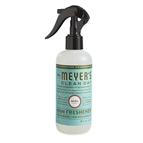 Mrs. Meyer's Clean Day Room Freshener, Basil, 8 fl oz