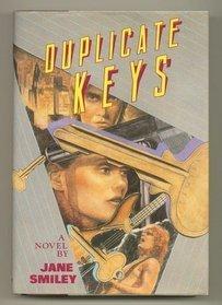 Duplicate Keys 1ST Edition Signed