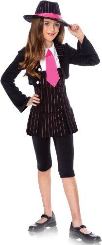 Gangster Girl Costume (Medium) (Girl Gangster Halloween Costumes)