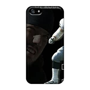 L.M.CASE Case Cover Protector Specially Made For Iphone 5/5s Oakland Raiders
