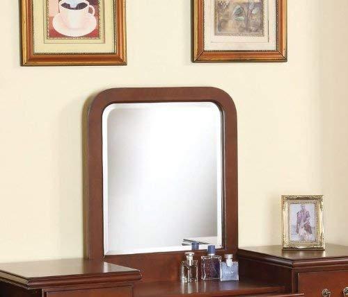 - acme 06566 Louis Philippe Mirror, Cherry Finish