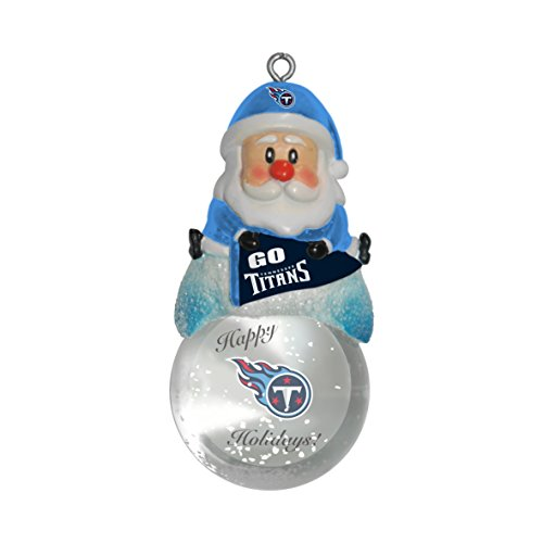NFL Tennessee Titans Snow Globe Ornament
