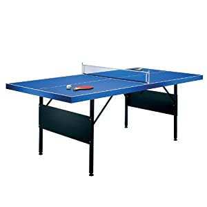 Tischtennisplatte 183x71x91cm klappbar incl. 2 Kellen