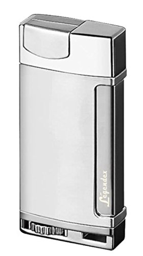 Legendex Adventurer Torch Lighter 06-50-300 (Silver) Silver Butane Torch Lighter