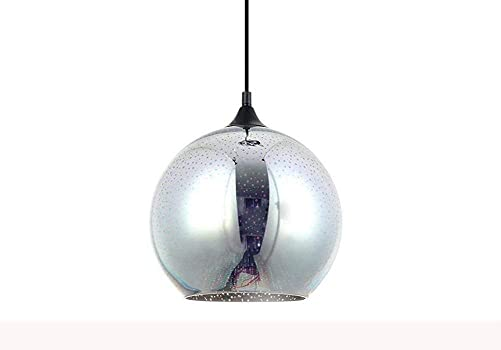 Modern 3D Multicolor Creative Glass Ceiling Lights Lamp Shade Chandelier Minimalist Art Pendant Lights Style A