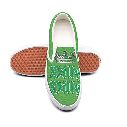 - Dilly Dilly ST. Patricks Day white Boys Sneakers for Men Low Top Lightweight Lace-Up Running Shoes